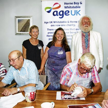 Our Work of Art - Age UK Herne Bay - July 2018