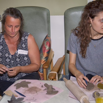 Volunteer Training Session- Canterbury-Our Work Of Art 2018